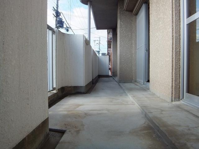 【バルコニー】マンションパール