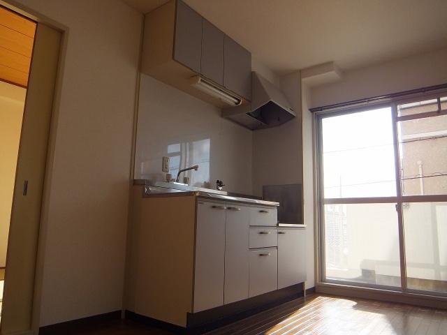 【キッチン】マンションパール