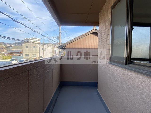 プランドール国分 室内洗濯機置場
