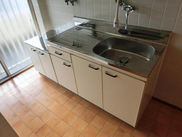 小松マンション キッチン コンロ設置可 都市ガス