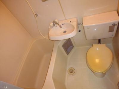 【浴室】鶴ヶ島駅前コーポ