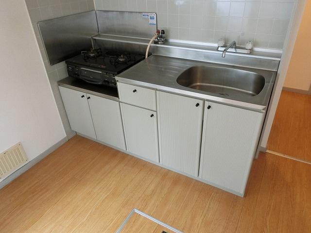 【キッチン】ハイツフローラ