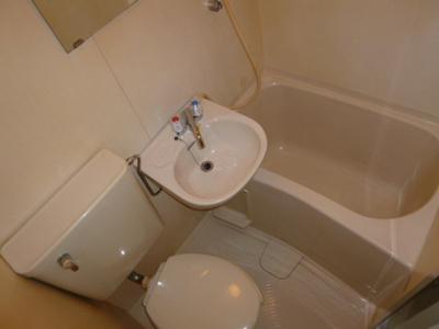 【浴室】グリーンハイツⅡ
