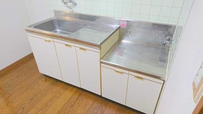 【キッチン】シティハイムフジ