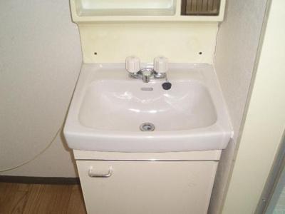 【独立洗面台】アローハイツ