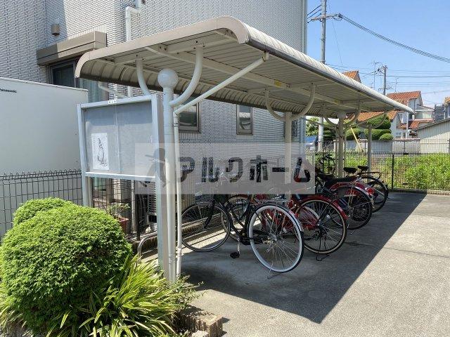 自転車置き場も当然確保