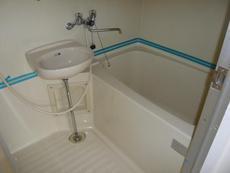 【浴室】サンテルコホワイトハイツ