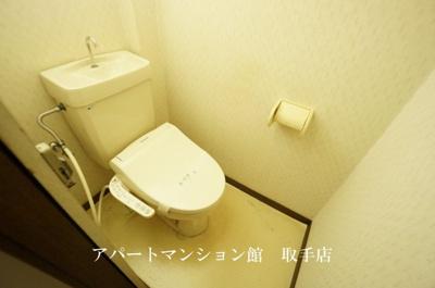 【トイレ】コーポ駒場第二