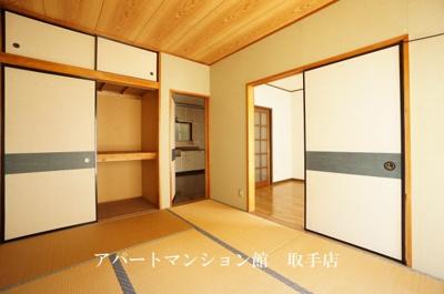 【寝室】コーポ駒場第二