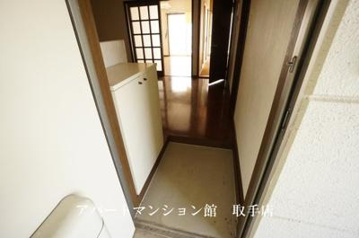 【玄関】コーポ駒場第二