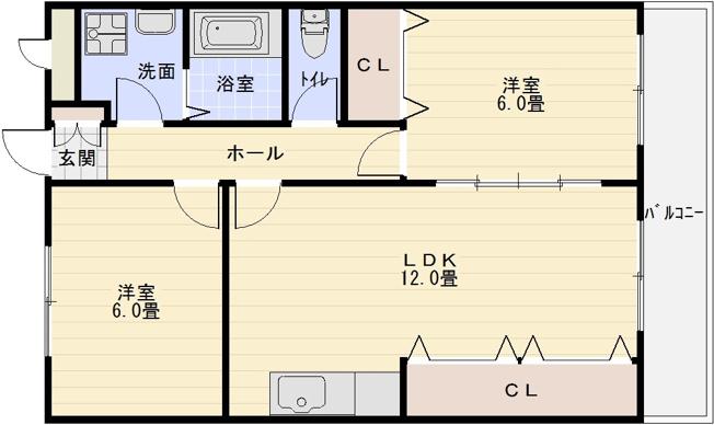 K'sハウス(カズハウス) 2LDk