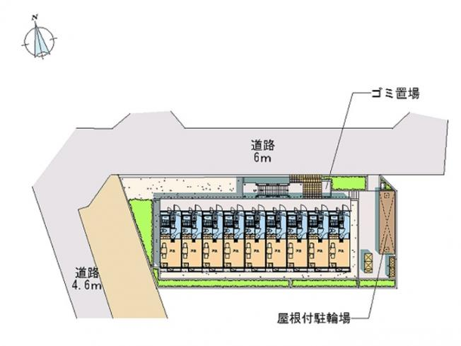 【区画図】飯山満