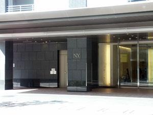 【エントランス】ディーグラフォート大阪NYタワー