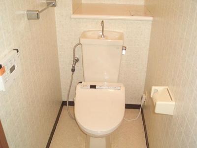【トイレ】プルミエール南堀江