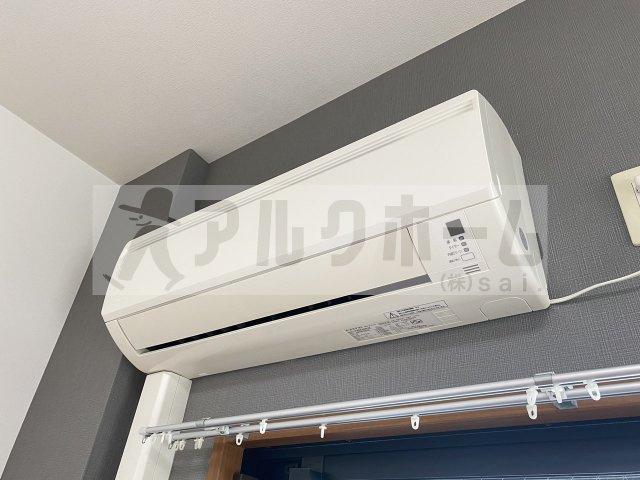 オレンジハウスエクセレント(河内国分駅) 浴室鏡付