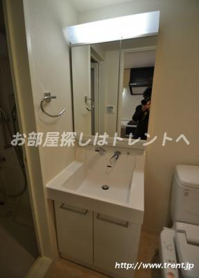 【独立洗面台】グランドコンシェルジュ新宿北