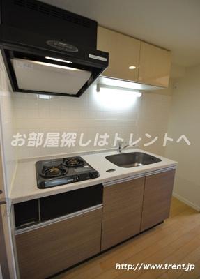 【キッチン】グランドコンシェルジュ新宿北