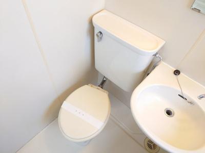 【トイレ】コーポウイングB棟