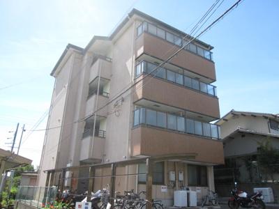 【外観】コーポ諏訪西大寺