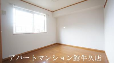 【寝室】ソレアードホソヤD