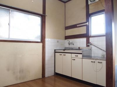 【キッチン】蓮常寺2戸1平屋