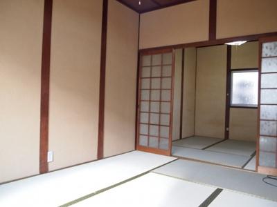 【和室】蓮常寺2戸1平屋