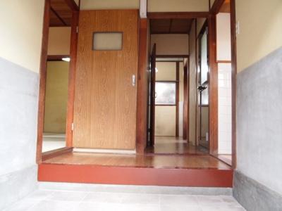 【玄関】蓮常寺2戸1平屋