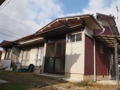 【外観】蓮常寺2戸1平屋