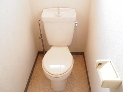 【トイレ】蓮常寺2戸1平屋