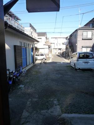 【外観】春駐車場(バイク)