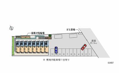 【地図】タートルハウスⅡ