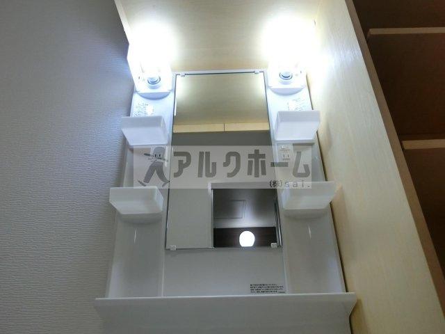 第6コーポ平野 独立洗面台