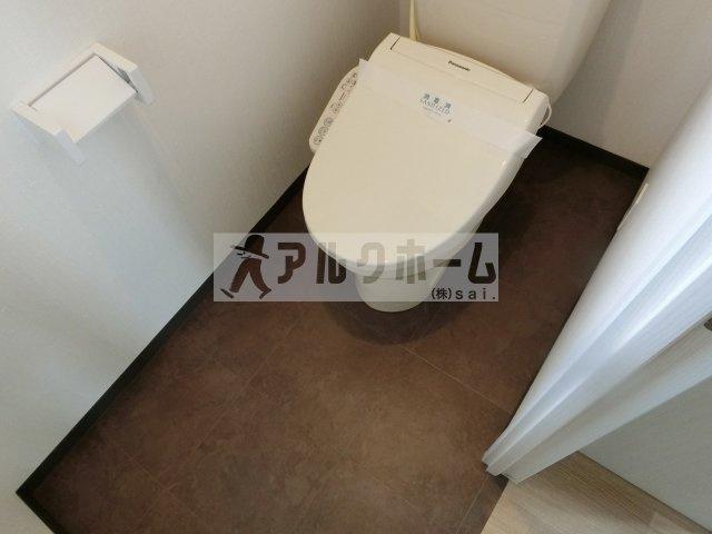 第6コーポ平野 トイレ