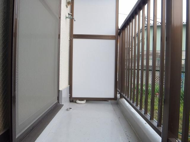 【バルコニー】ビューハイム西村