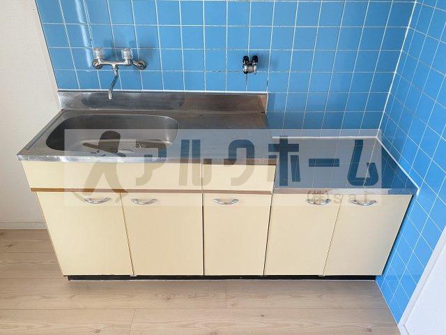 ビューハイム西村(河内国分駅) 2DK キッチン