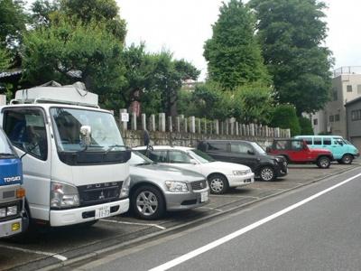 【外観】日曜寺駐車場(バイク)