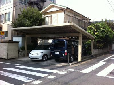 【外観】山岸駐車場