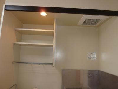 キッチン上棚収納