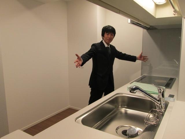 【キッチン】シティタワー神戸三宮