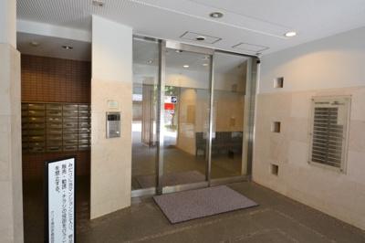 【エントランス】クリオ蒲田壱番館