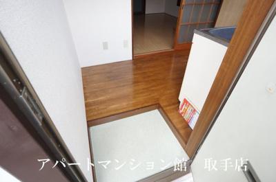 【玄関】ムカイハラハイツB