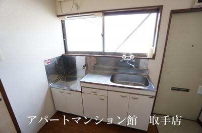 【キッチン】ムカイハラハイツB