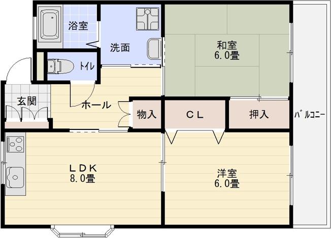 ラポート 柏原市田辺 河内国分駅 大阪教育大前駅