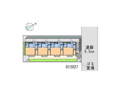【地図】サンヴィレッジK