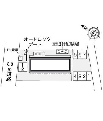 【地図】ハサマミナミ