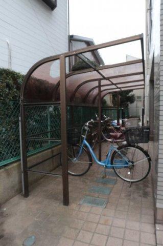 自転車置き場もございます