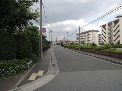 【前面道路含む現地写真】安倉第一団地