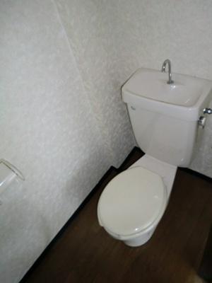 【トイレ】ラビットハウス平田3
