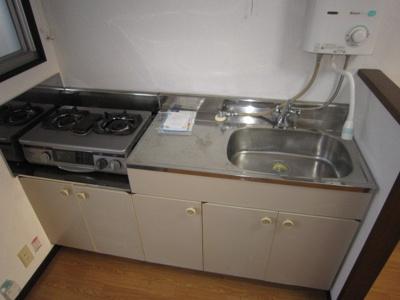 【キッチン】ホワイトビレッジC