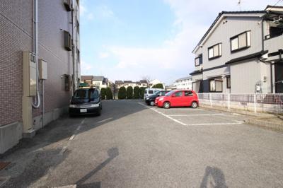 【駐車場】ハピネス松岡